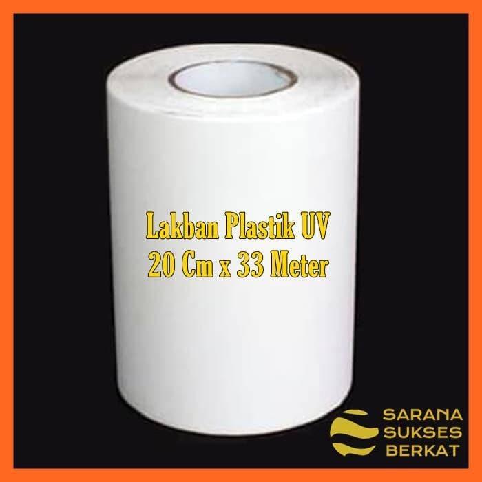 Foto Produk Lakban plastik UV Green House Isolasi plastik UV 20 cm x 33 meter dari Sarana Sukses Berkat