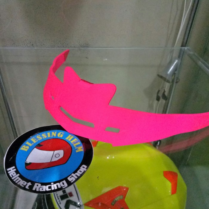 Foto Produk spoiler Nhk gp 1000 pink flo doff dari blessinghelm_racing 23