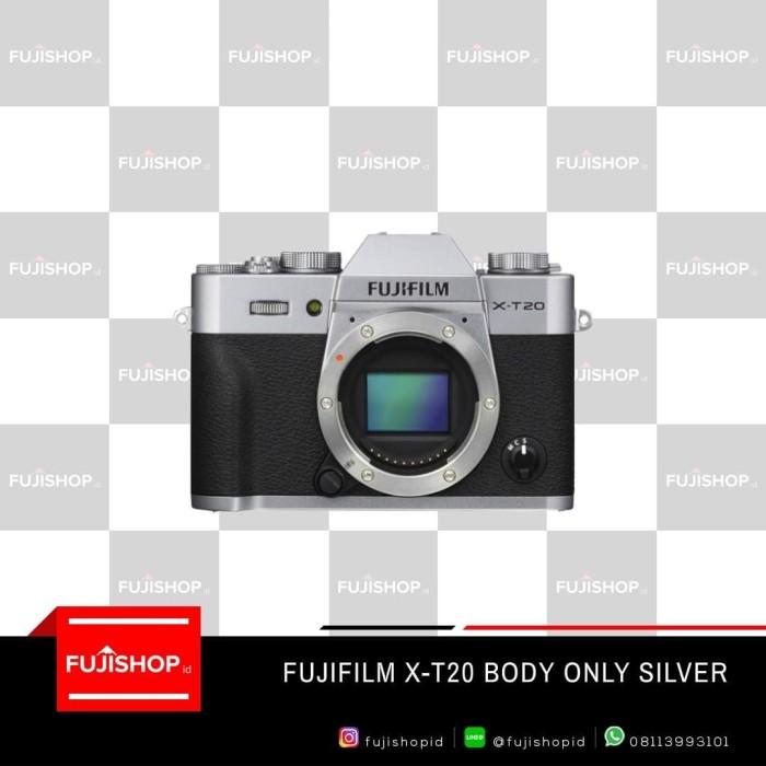 harga Fujifilm x-t20 body only silver Tokopedia.com