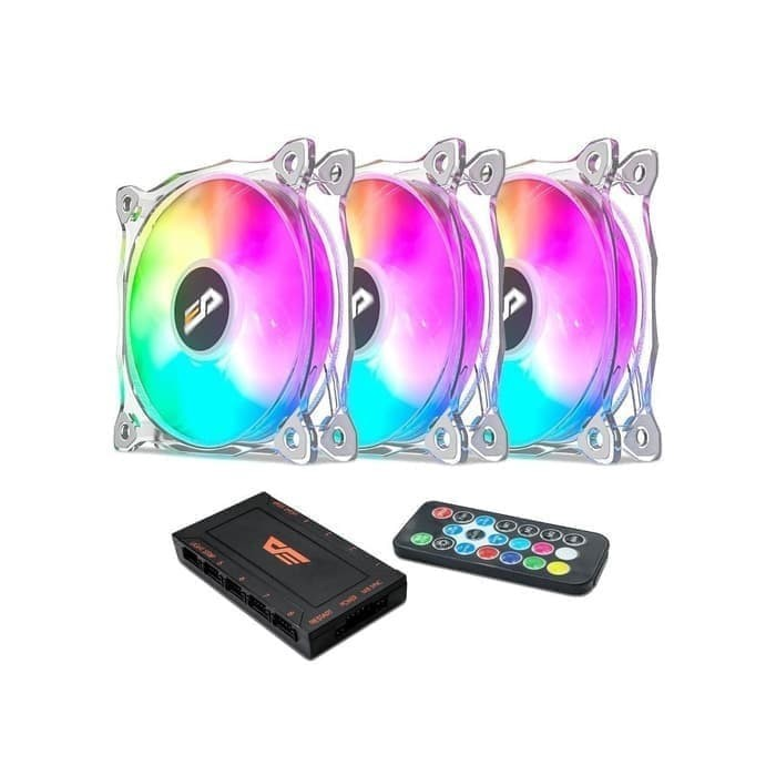 Foto Produk Fan CAsing Aigo darkFlash CF8 PRO 3in1- ARGB Sync - 12CM dari toko expert komputer
