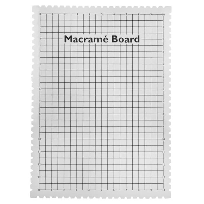 Foto Produk Macrame Board 29x39 cm No BRAND dari Studio Manik
