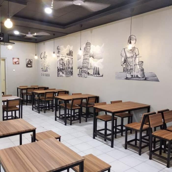 Jual 1 Set Meja Kursi Cafe Murah Dan Berkualitas Kota Depok Inspirationshop Tokopedia