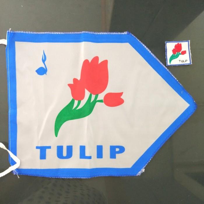 Jual Bendera Regu Bunga Tulip Pramuka Set Kab Bandung Slimfit Sportware Tokopedia