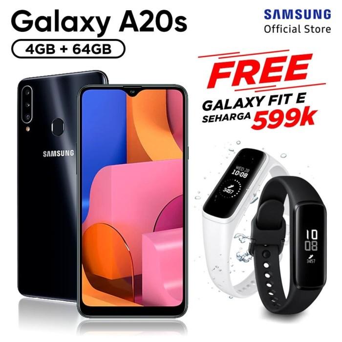 harga Samsung galaxy a20s [4gb/64gb] free samsung fit e - garansi resmi - hijau Tokopedia.com