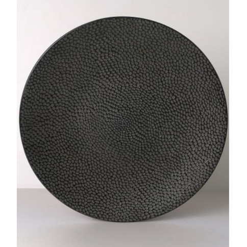 Foto Produk Dinner Plate Black Texture Elegant D.27.5cm | Piring Unik|Piring Makan dari GALAXY HouseholdCeramics