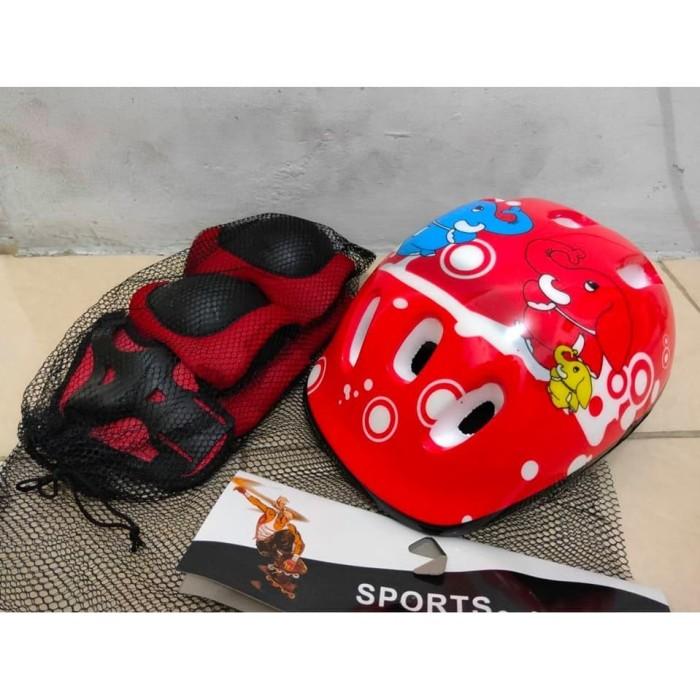 harga Helm sepeda/sepatu roda untuk anak-anak Tokopedia.com