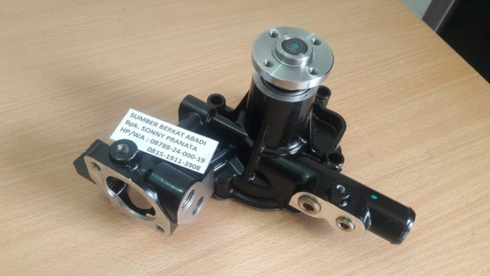 Foto Produk New Water Pump 129001-42002 12900142002 For Yanmar 3TNE88 4T upp Lac dari mahaz karya