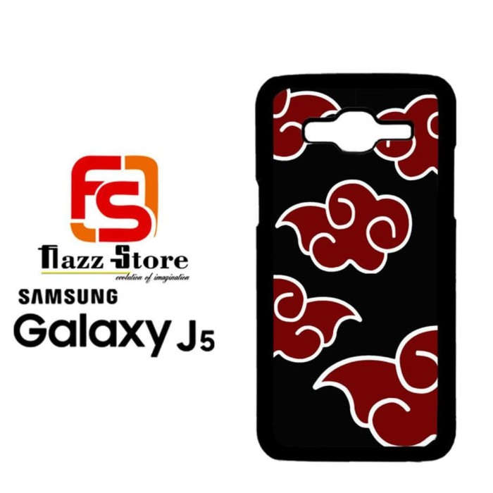 Jual Paling Populer Naruto Akatsuki Cloud Emblem Samsung Galaxy J5
