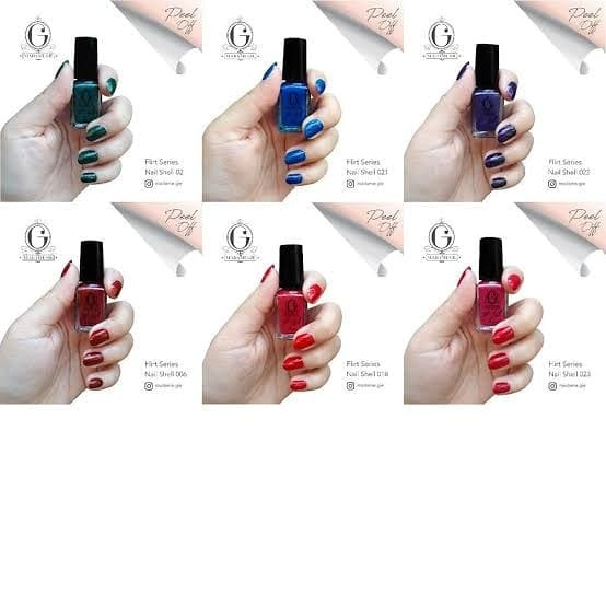 Foto Produk madame gie nail shell flirt series - Ungu dari naomishop58