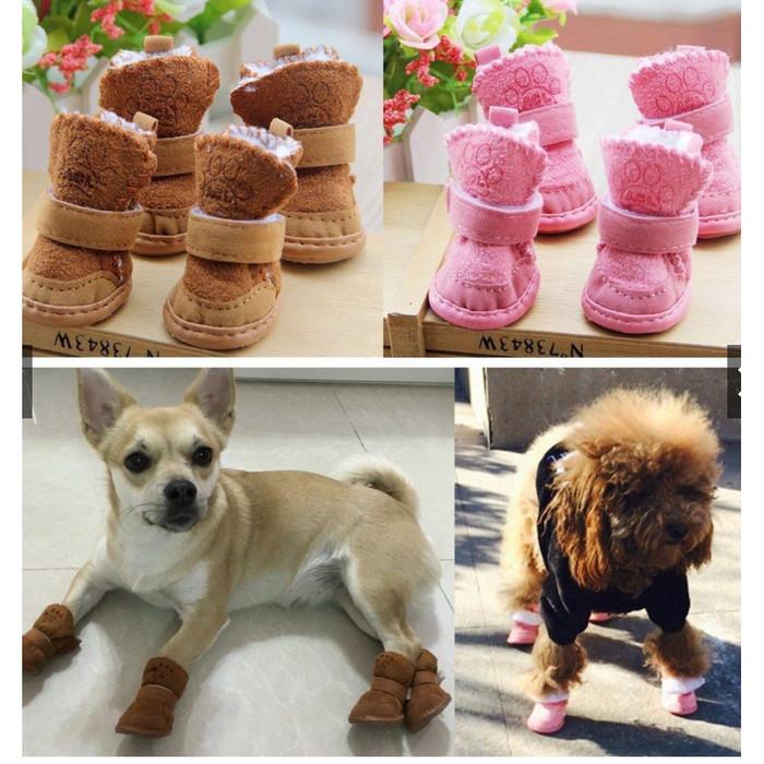 Jual Sepatu Anjing Chihuahua Lucu Untuk Anjing Kecil Xl Pink Jakarta Barat Gold Platinum Stor Tokopedia