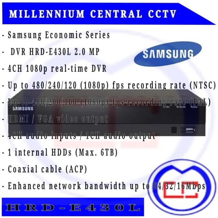 harga Dvr samsung economic series dvr hrd-e830l 2.0 mp Tokopedia.com