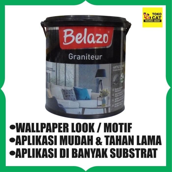 Foto Produk Cat Texture Belazo Graniteur 2,5 Liter / Barang Unik dari Toko Cat Warna Abadi