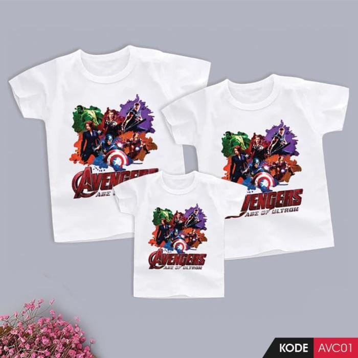 Foto Produk Kaos Couple Avengers (AVC-01) dari Zello Kids
