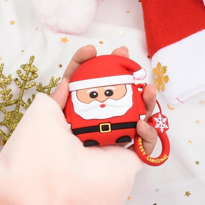 Foto Produk 3D Silicone Airpods Case SANTA Edisi Natal (Christmas Edition) dari VIWI