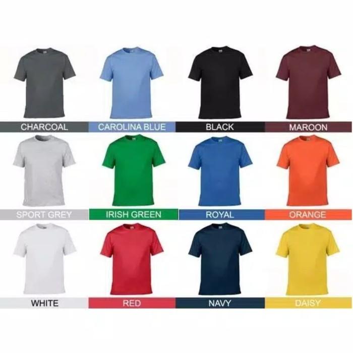 Foto Produk Kaos Polos Gildan Softstyle 100% ORIGINAL Size Khusus : 2XL / XXL - Hitam, XXL dari M2 Collection Shop