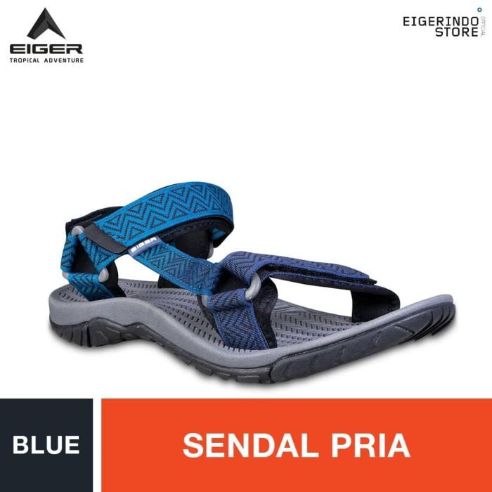 Foto Produk Eiger Caldera Men 1.0 Sol Dark Grey Pattern - Blue - Biru, 39 dari Eigerindo Store