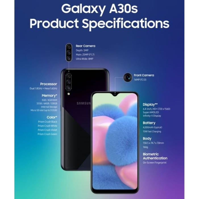 Jual Samsung Galaxy A30s 4 64 Ram 4gb Rom 64gb Garansi Resmi Hitam Kota Depok Mandiri Online Sh0p Tokopedia