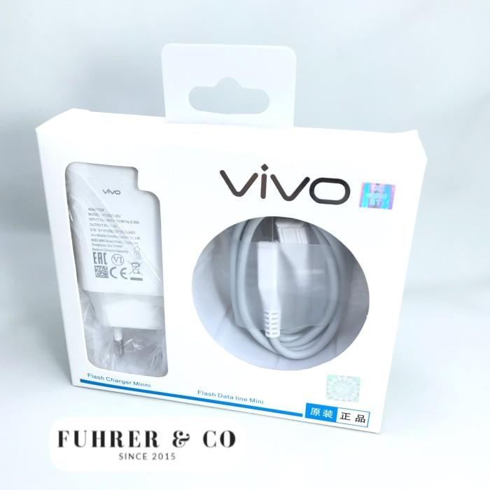 Foto Produk Charger Vivo V5 X7 Y53 Original Quick Charging 2A 9V Original dari Fuhrer Shop