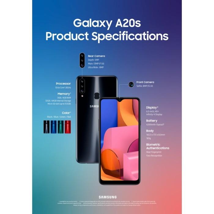 harga Samsung galaxy a20s 4/64 ram 4gb rom 64g garansi resmi Tokopedia.com