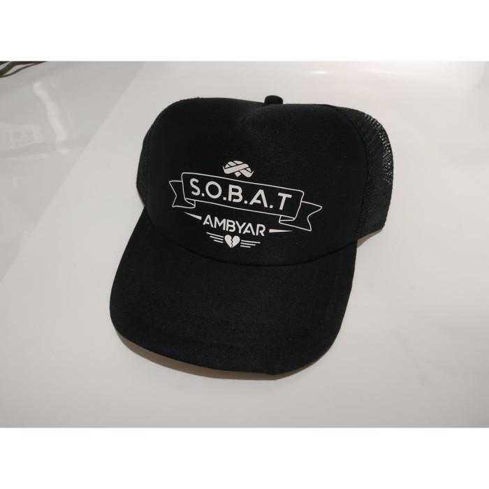 Jual Topi Truckerhat Jaring Premium Sobat Ambyar Murah Kota