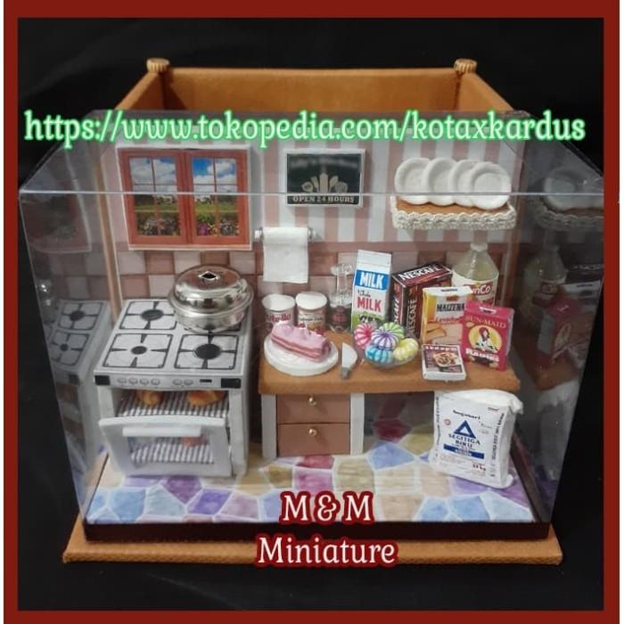 harga Hadiah ibu/sahabat hari ibu/miniatur dapur/masak/kue+case serba guna Tokopedia.com