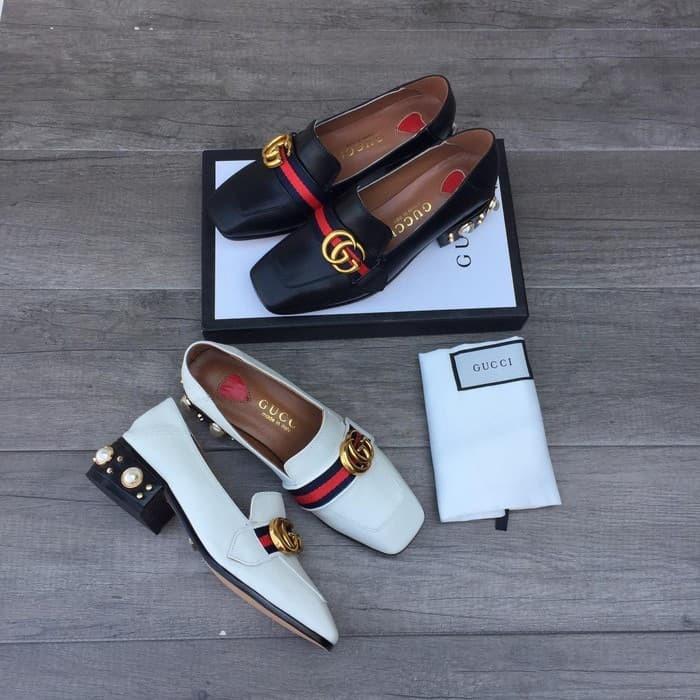 Jual Sepatu Wanita Gucci Original Hitam Kab Kubu Raya
