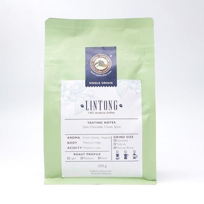Foto Produk Opal Coffee - Lintong Arabica Roasted Beans 250g dari Opal Coffee Indonesia