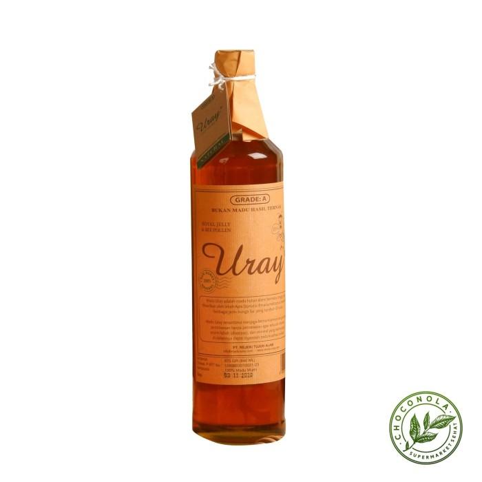 Foto Produk MADU URAY Besar 640 ml (Natural Raw Honey 875 g) dari Choconola