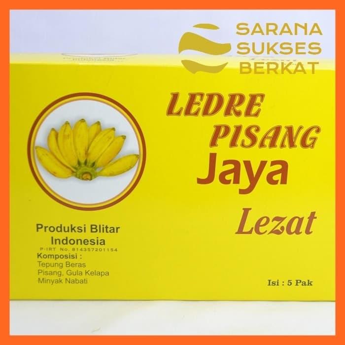 Foto Produk Camilan Ledre Pisang Jaya Oleh-Oleh Asli Blitar Kotak Besar dari Sarana Sukses Berkat