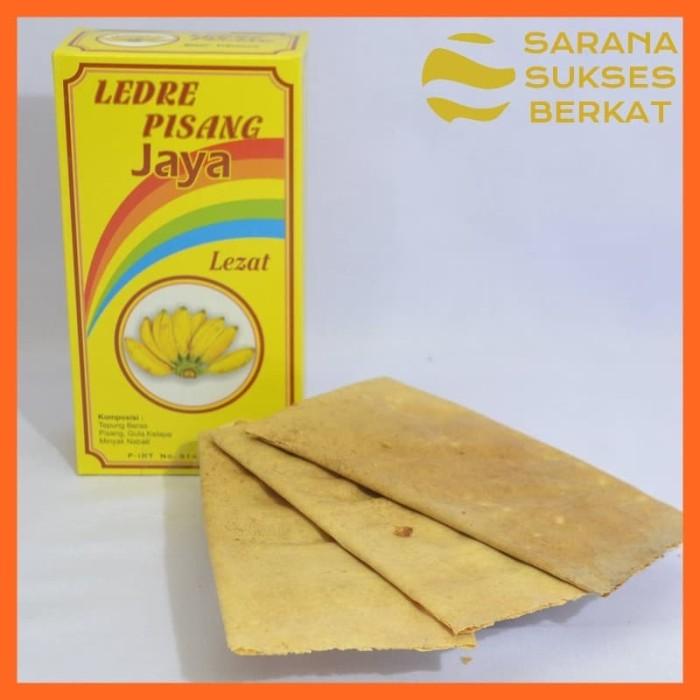 Foto Produk Camilan Ledre Pisang Jaya Oleh-Oleh Asli Blitar Kotak Kecil dari Sarana Sukses Berkat