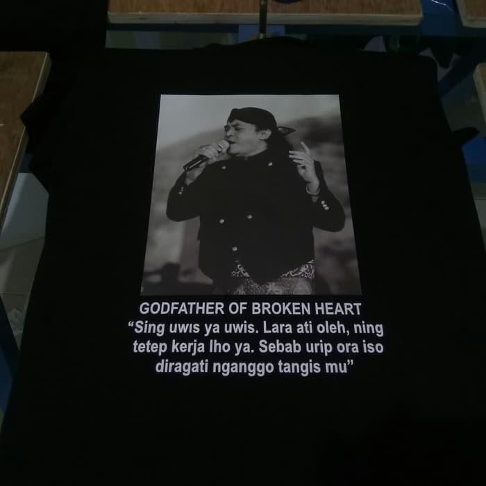 Jual Baju Tshirt Kaos Didi Kempot Sobat Ambyar Lirik Jakarta