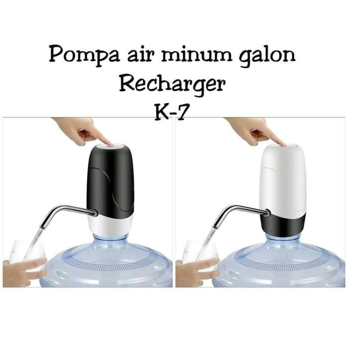 Jual Water Pump Rechargeable Usb/ Pompa Galon Elektrik ...