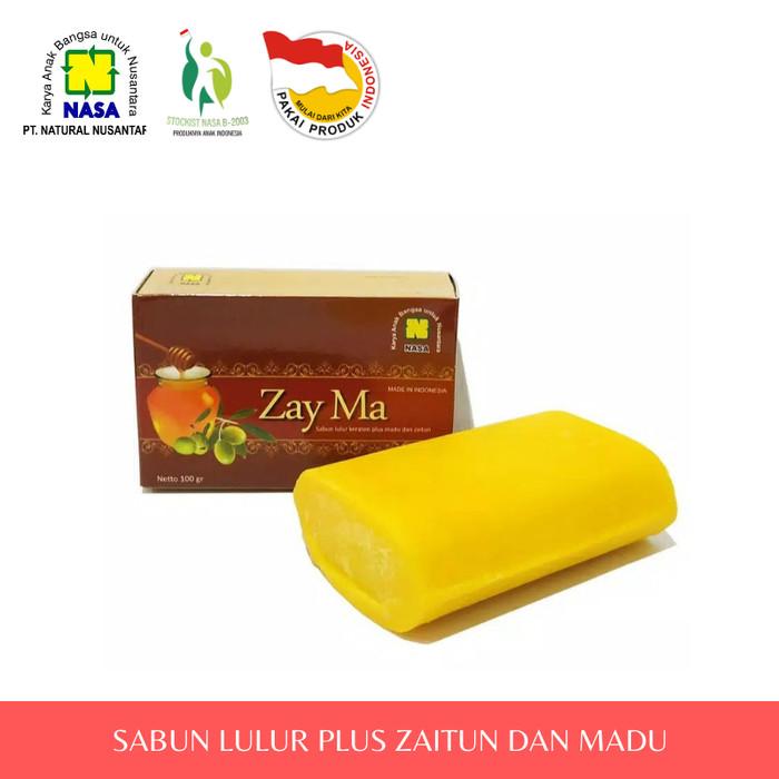 Zayma Sabun Lulur Plus Zaitun Dan Madu