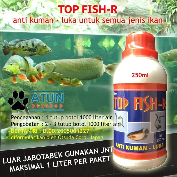 Jual Obat Ikan Anti Bakteri Luka Infeksi Top Fish Red Paling Ampuh Teruji Jakarta Barat Iisque Tokopedia