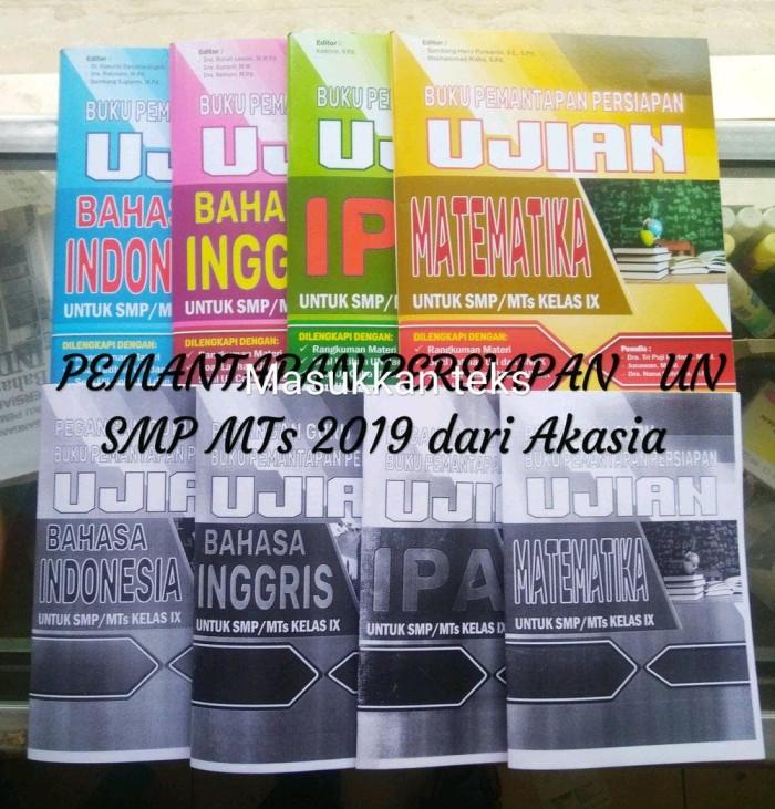 Jual Buku Pemantapan Persiapan Un Smp 2018 Akasia Free Kunci Jawaban Jakarta Utara Rudi Susanto Tokopedia