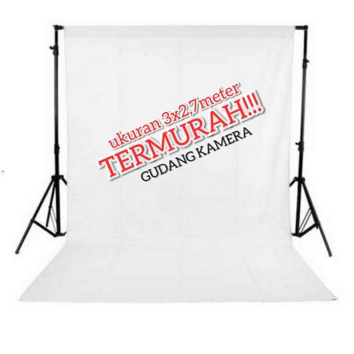Jual Background Latar Belakang Foto Studio Putih Kab Sleman Gudang Kamera Tokopedia