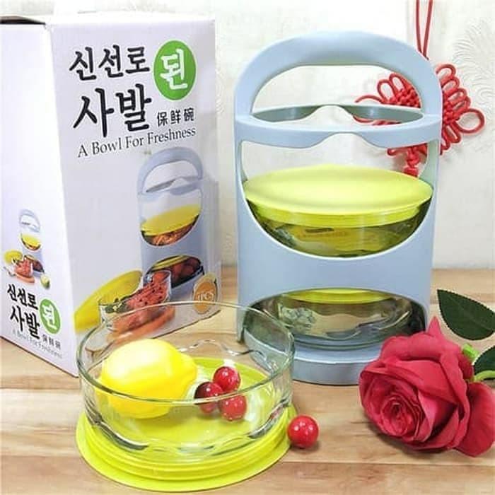 Foto Produk Rantang kaca 3 susun dari dedengkot wallpaper