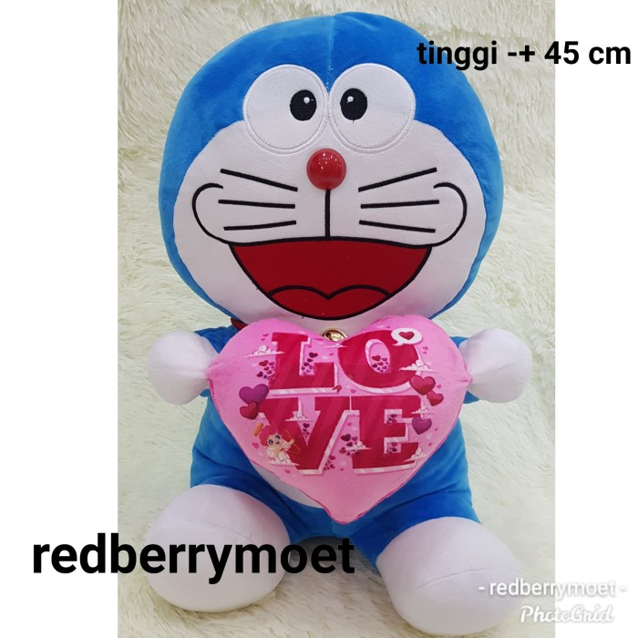 harga Boneka doraemon love besar Tokopedia.com