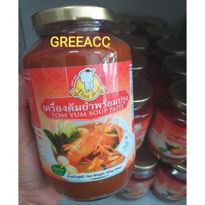 Thaiboy tom yum paste 825gr thai boy jumbo tomyum bumbu saus saos