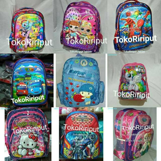 Jual Tas Ransel Anak Alto Timbul 3d Lol Frozen Litlle Kuda Poni Pony Jakarta Barat Mm Shop72 Tokopedia