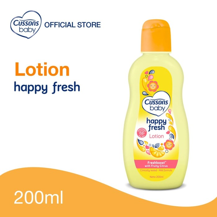 Foto Produk Cussons Baby Happy Fresh Lotion 200ml dari Cussons Official Store