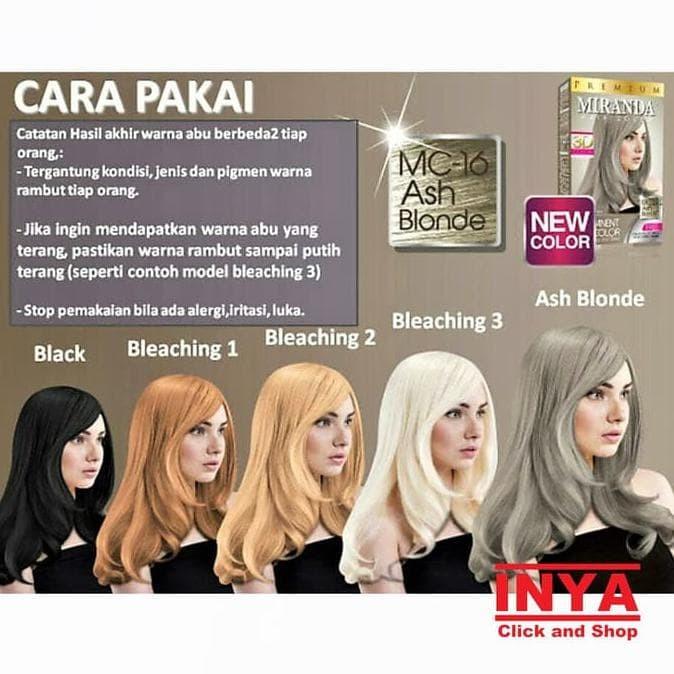 Jual Terlaris Semir Rambut Miranda 30mlx2 10ml Mc 6 Bleaching Decoloring Jakarta Timur Vivin Store2 Tokopedia