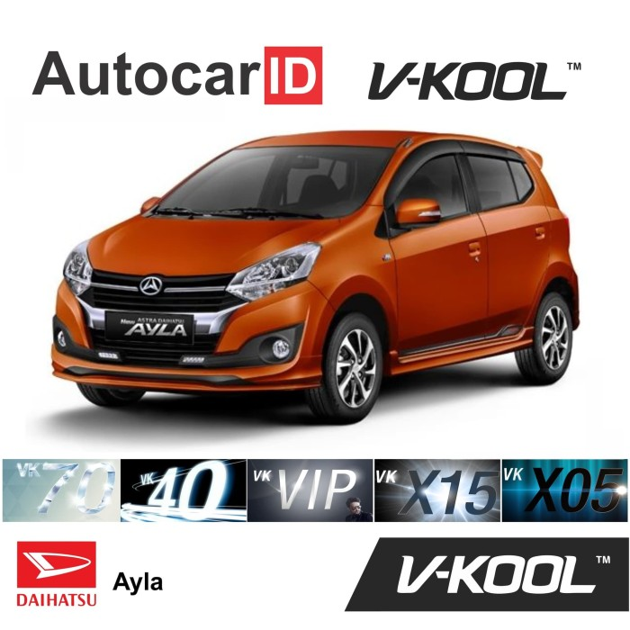Jual Kaca Film V Kool Daihatsu Ayla Full D Vk40 40 S X05 80 B X05 80 Kota Bekasi Autocarid Tokopedia