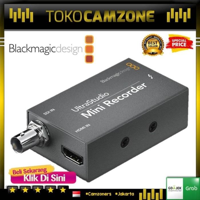 Jual Blackmagic Design Ultrastudio Mini Recorder Murah Jakarta Barat Husniashoop Tokopedia