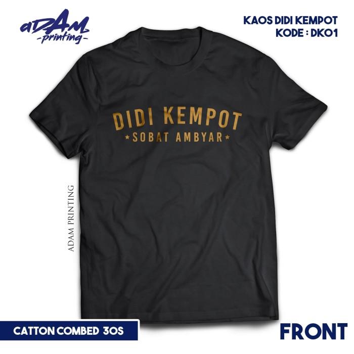 Jual Kaos Didi Kempot Sobat Ambyar Premium Kode Dk01 Xxxl