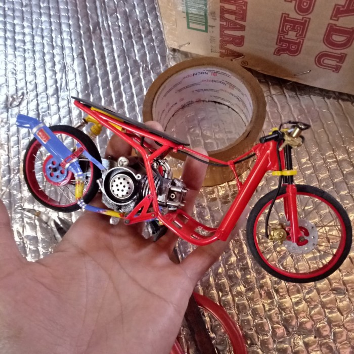 Jual Miniatur Mio Drag Handmade Putih Kab Ciamis Fuaddz Tokopedia