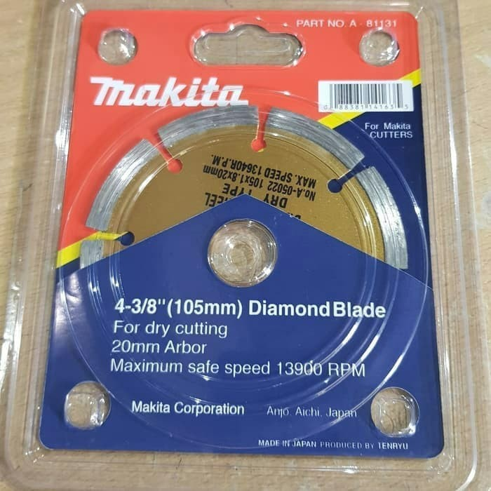Foto Produk MAKITA MATA PISAU KERAMIK KERINGA ORIGINAL / DIAMOND WHEEL DRY GOOD dari Mark Ryden Shop888