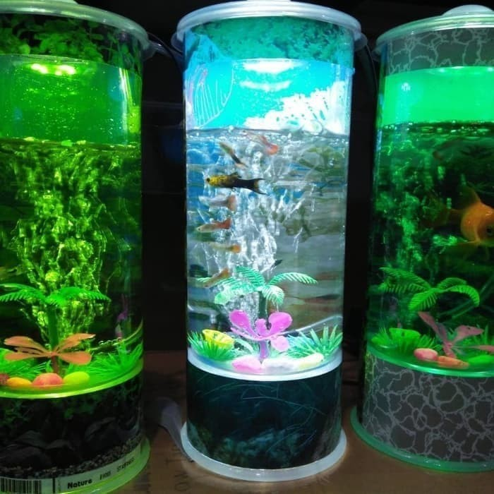 Jual Akuarium Mini Aquarium Portable Ikan Hias Kota Bogor Mister Complete Tokopedia