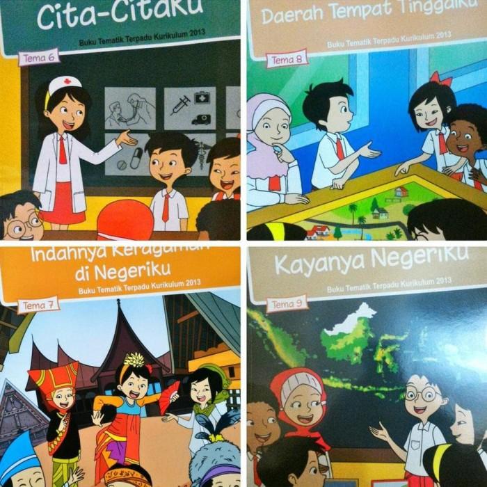 Jual Paket Tematik Kelas 4 Semester 2 Kurikulum 2013 Edisi Revisi 2017 Jakarta Barat Samsul Maulana Tokopedia