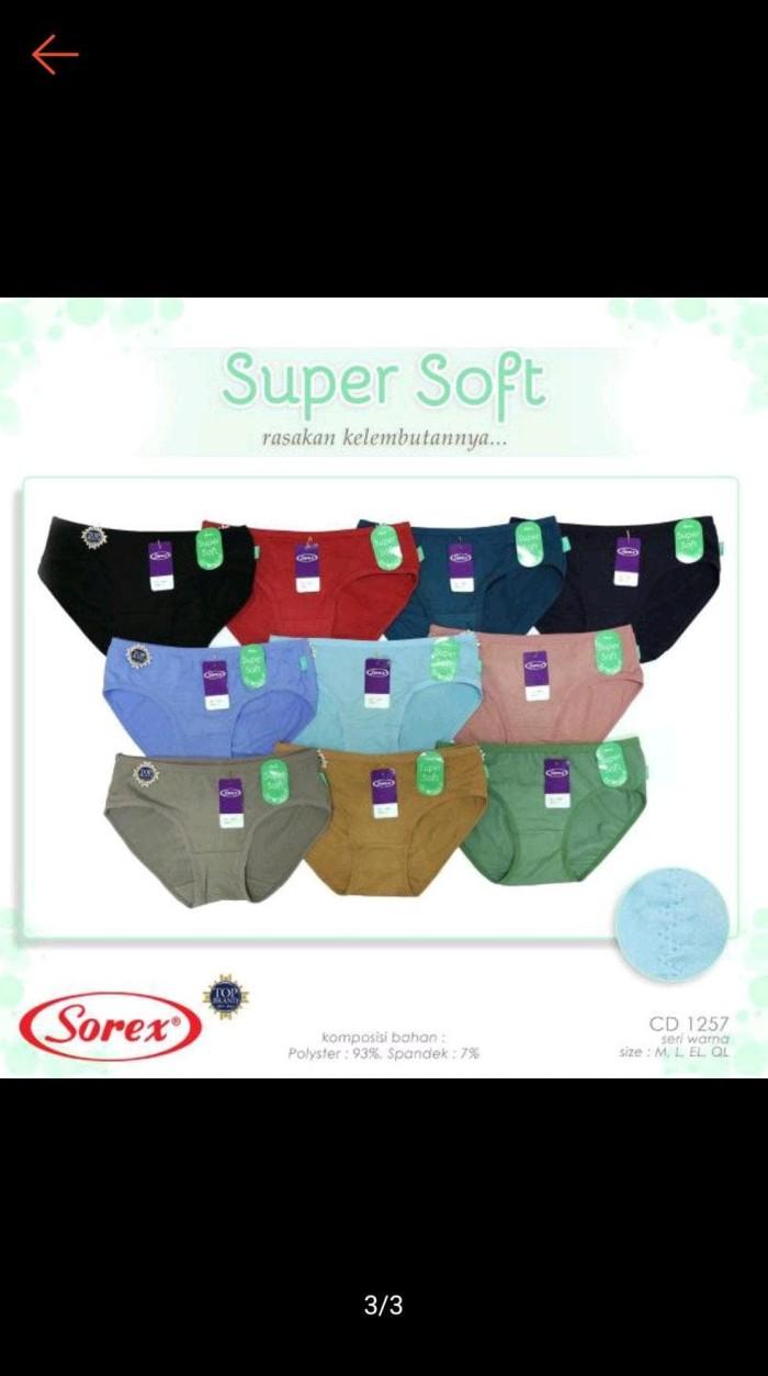 Jual Celana Dalam Wanita Sorex 1257 Super Soft Jakarta Barat Teguh Purnomo0